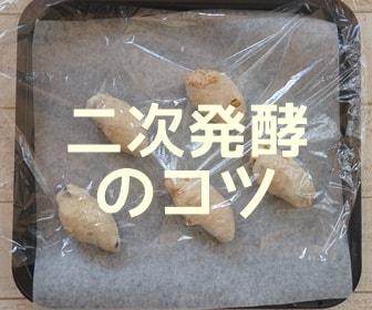 パン作り二次発酵のコツ