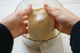 ハイジの白パンレシピ・グルテン膜