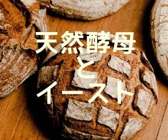 天然酵母とイーストパン