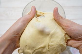 フープロでパン生地をこね、こねあがったか見極める方法