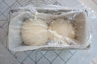 食パン型の使い方 二次発酵
