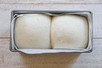 食パン型 2次発酵の見極め