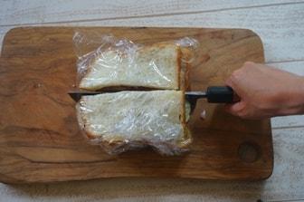 サンドウィッチの切り方