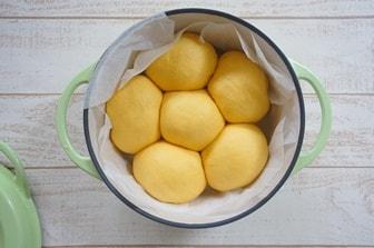 鍋をパン型として使う方法