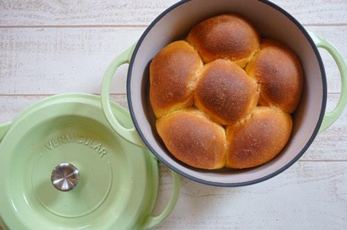 無水鍋をパン型として使う方法