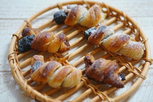 京都のおいしいパン屋さんオペラのミニチョコクロワッサン