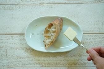 パンノマナー バターの取り方