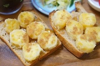 バナナシナモントースト 画像