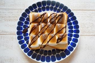 スモアトーストレシピ 画像