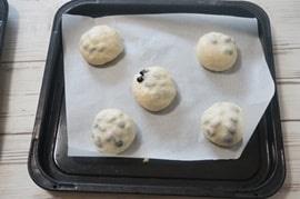 黒豆きなこパンレシピ二次発酵
